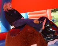 Bucking Bronco for hire from rodeobulls.co.uk