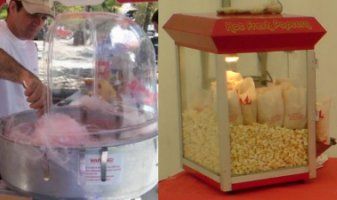 Candyfloss Machine hire and Candyfloss Stall hire