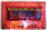 Hire a Cork Gun Shooting Range from Rodeobulls.co.uk